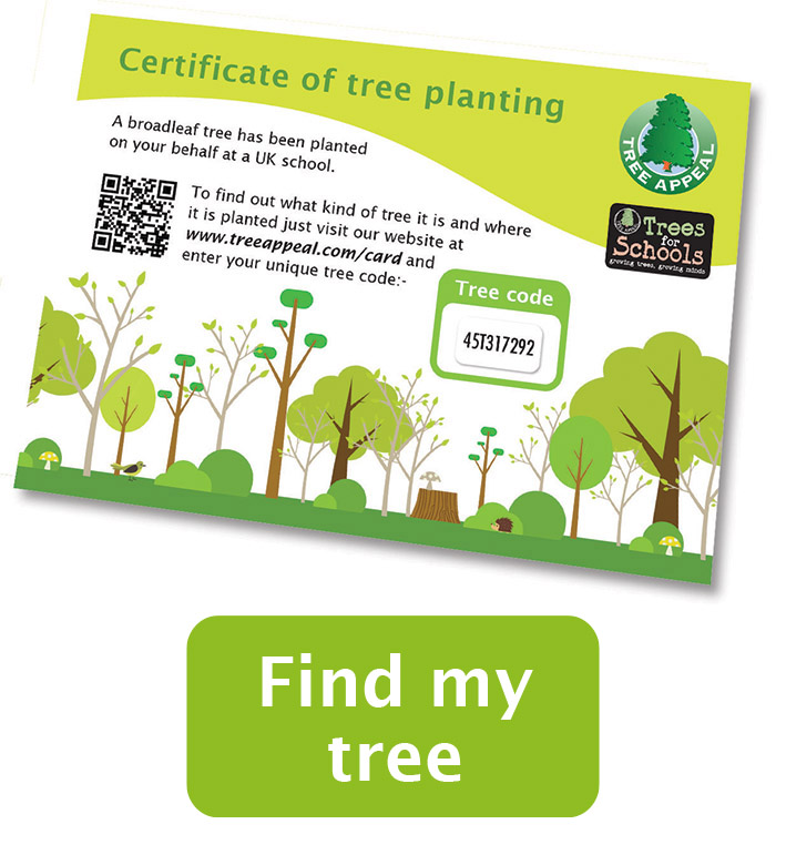 Planting certificate
